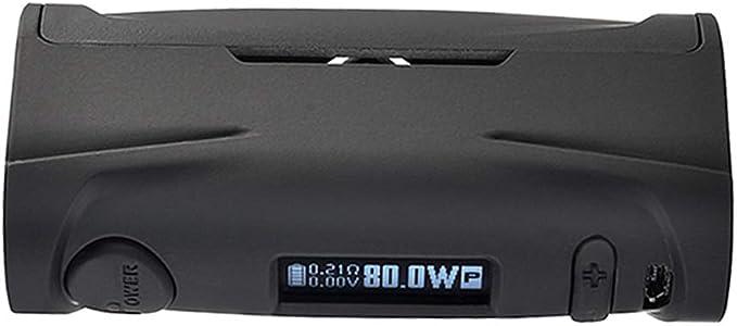 Vapor Storm Puma Baby 80W TC Box MOD OLED Display Cigarrillo electrónico exclusivo con cuerpo de graffiti Sin líquido E Sin nicotina (Negro): Amazon.es: Salud y cuidado personal