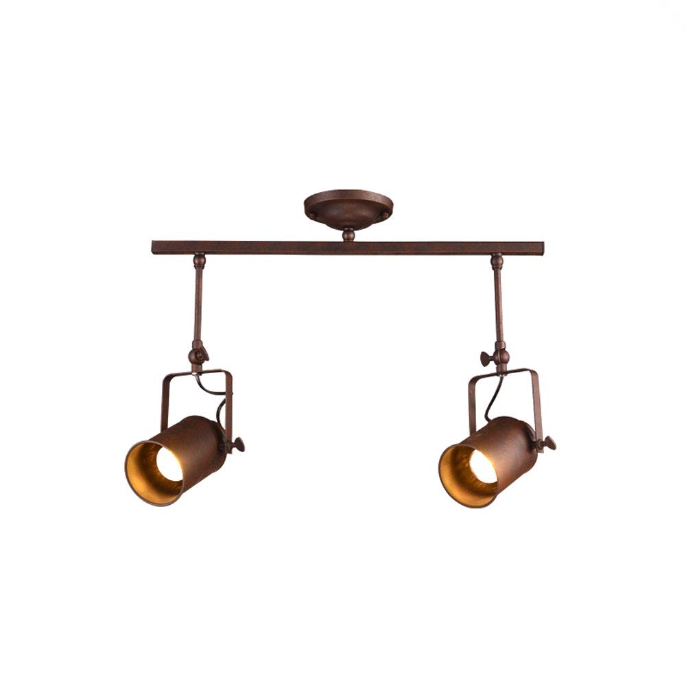 Mei Xu Track Light - Creative Cafe Bar Spotlights - Size (50/70/100cm) - Vintage Spotlights Track Lamp (Size : 50CM)