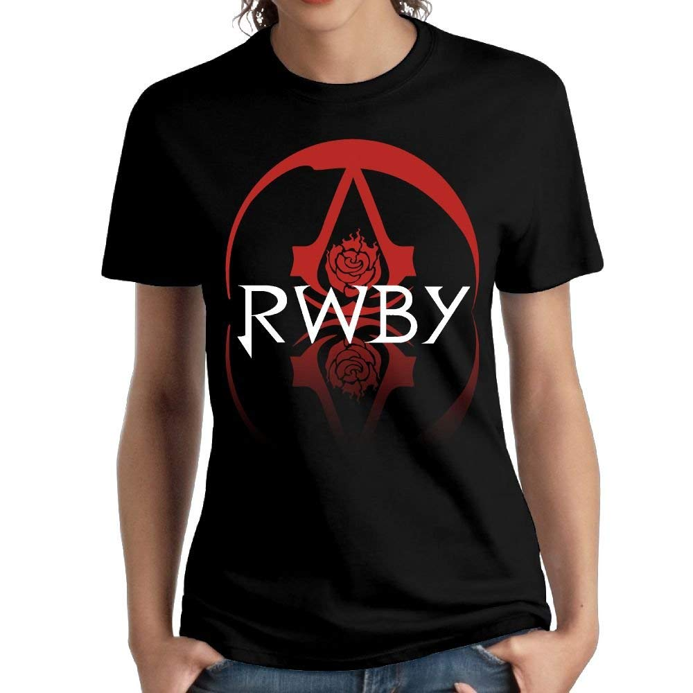 Fssatung S Rwby Ruby Short Sleeve Top Shirts Cool Shirt Black