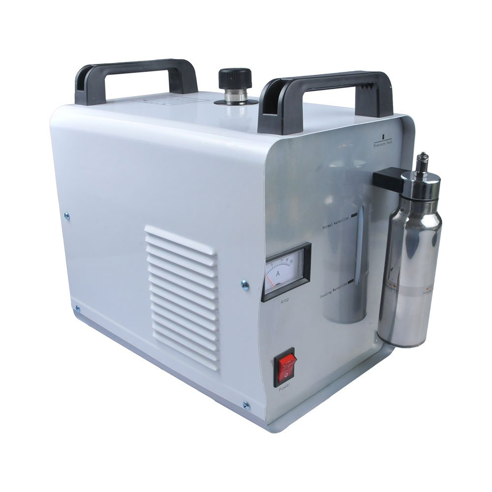 USA Stock - H160 300W 110V Portable Oxygen Hydrogen Flame Generator Acrylic Polishing Machine Polisher 75L, 1 Gas Torch by H-E