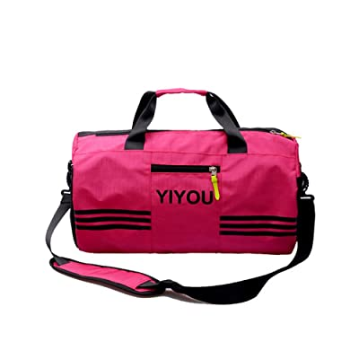 00b6d587b032 delicate Swim Bag Travel Sports Gym Bag Waterproof with Dry Wet Area Shoes  Compartment