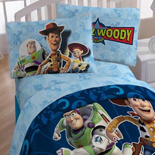 47e6a28cef086 De Disney Toy Story – Juego de sábana no Juguete con nosotros Twin ...