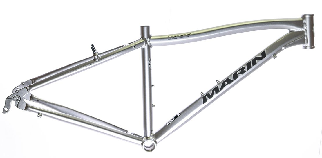 19'' MARIN LARKSPUR 700C Hybrid City Bike Frame Silver Aluminum NOS NEW