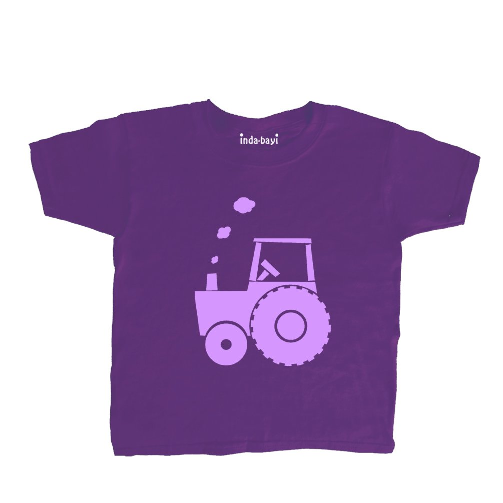 Inda-Bayi Baby-Toddler-Kids Cotton T Shirt - Tractor