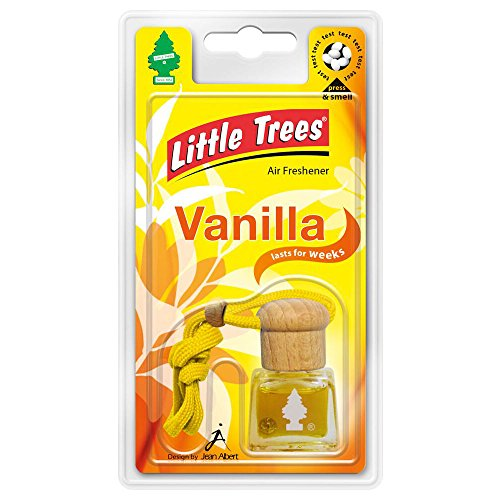 Little Trees Magic Tree Liquid Bottle Car Air Freshener Freshner Scent - VANILLA Scents - 4.5ml