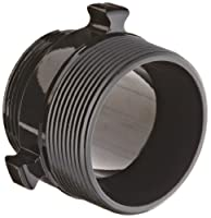 "Moon 378-3062524 Aluminum Fire Hose Adapter, Rocker Lug, 3"" NPT x 2-1/2"" NH Double RL Male"