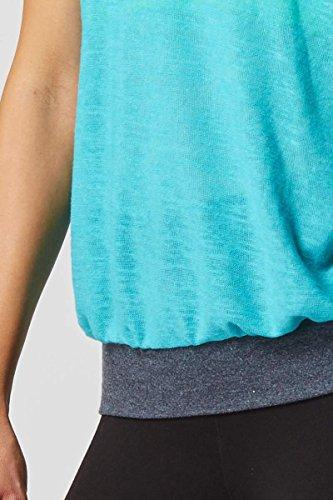 TLC Sport - Camiseta sin mangas - Básico - para mujer azul agua 40