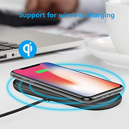 Hidden Camera Wireless Charger Mini Spy Camera Full HD for Real-time Video Recording Loop Recording Security Camera