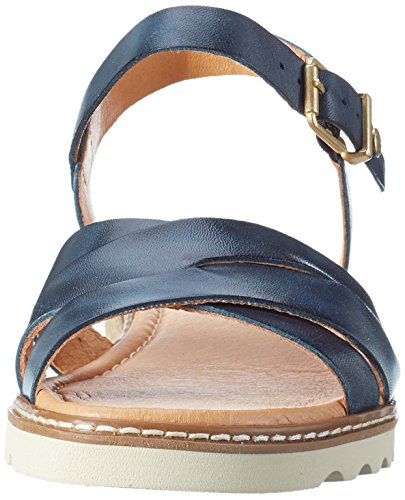 Pikolinos Women Alcudia W1l_v17 Wedge Heels Sandals Blue (Ocean) nb6zh