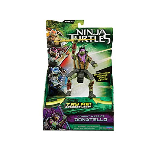 Ninja Turtles - Combat Warrior - Donatello - Figurine à ...