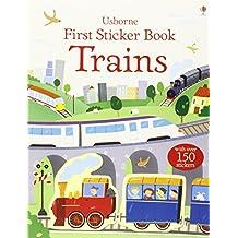 Trains (First Sticker Book)