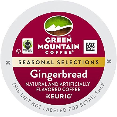 Keurig K-Cups Green Mountain Coffee Gingerbread (Keurig Gingerbread Coffee compare prices)