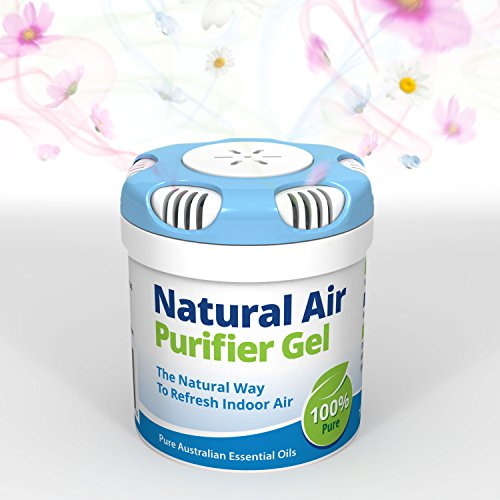 [해외]천연 공기 청정기 젤. /Natural Air Purifier Gel. Air Freshener, Deodorizer and Purifier In A Portable Canister - 100% Natural Odor Eliminator and Mold Remover. For Home, Car, Boat, Office. 2.6oz 75gm