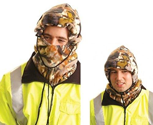 CAMO - 3-in-1 Versatile Fleece Balaclava - Hard Hat Liner - Occunomix - Liner Hard Hat Fleece