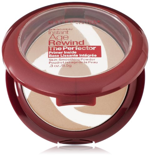 Maybelline New York Instant Age Rewind The Perfector Powder, Fair, 0.3 Ounce