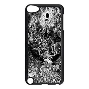 [Berserk Series] Ipod Touch 5 Cases Tree Face Hand the Moon, Case for Ipod Touch 5 for Boys Yearinspace - Black