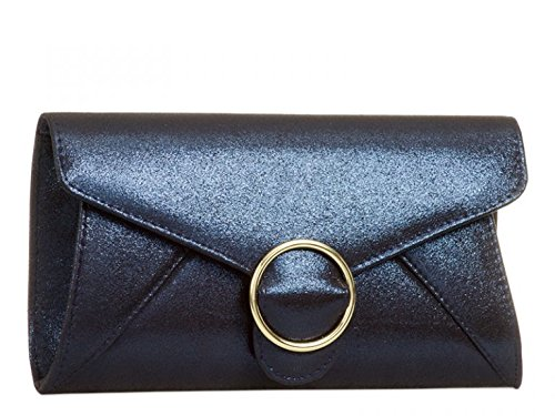 Leather Leahward Bag Bridal's Purses Silver Handbags Wedding Faux Cross Body Clutch Women's TqqWnwUxEO