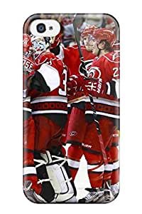 Durable Protector Case Cover With Carolina Hurricanes (22) Hot Design For Iphone 5/5s