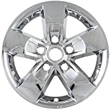"Fits 13-15 Ram 1500 17"" Alloy Wheels-Chrome Wheel Skins IMP345X"