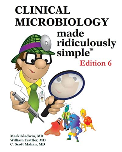 Kết quả hình ảnh cho Clinical Microbiology Made Ridiculously Simple