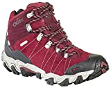 Oboz Women's Bridger Bdry Hiking Boot,Rio Red,9 M US