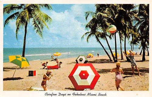 (Miami Beach, Florida Postcard)