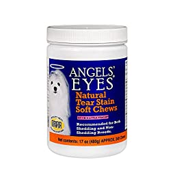 ANGELS\' Eyes 240 Count Natural Chicken Formula Soft Chews for Dogs
