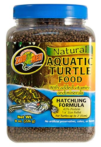 ZooMed Hatchling Aquatic Turtle Dry Food Micro Pellet 8 oz.