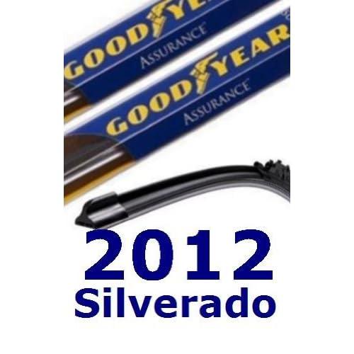 Wholesale 2012 Chevrolet Silverado Replacement Windshield Wiper (2 Blades) hot sale