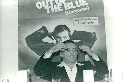 Vintage photo of Dennis Hopper, actor