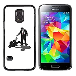 iKiki Tech / Estuche rígido - Tarantino Pulp Fiction - Samsung Galaxy S5 Mini, SM-G800