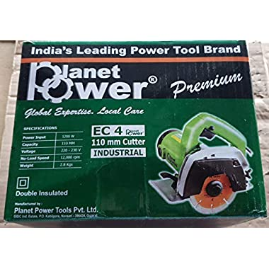 PLANET POWER 220-230V 1200W EC4 Tile/Wood Cutter Without Cutting Blade (4 Inch) 4