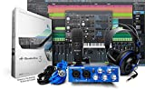 Image of PreSonus AudioBox Studio with Headphones, Microphone, Mic Cable, USB Cable, and StudioOne Artist Software (Download)