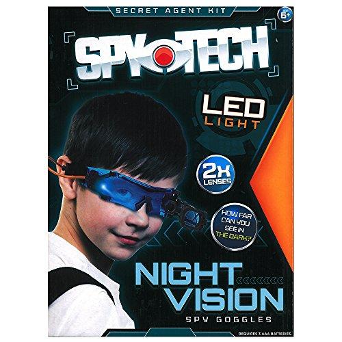 Spy Child Costumes Kit (Spy Tech Secret Agent Toy Kit - Night Vision Goggles)