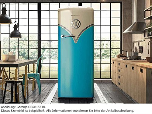 Gorenje Kühlschrank Retro Vw : Amazon.de: goreje obrb153bl kombi kühlschrank 254 l a frei