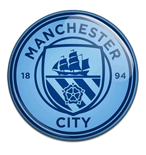 Manchester City F C Button Badge Bl Cr Amazon In