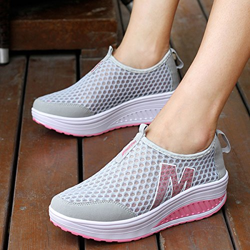 QZBAOSHU Summer / Winter Women's Fashion Sneakers Athletic Boating Shoes Platforms Sport Sandals for Women 2(summer style) m0LfJZ1XS