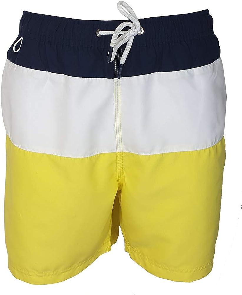 Pierre Cardin Pantalones Cortos de Natación Bordados de Firma