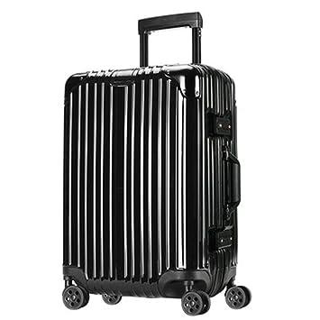 Maleta con ruedas para viaje Maleta con ruedas, maleta, estuche de viaje, caja de cerradura TSA, ...
