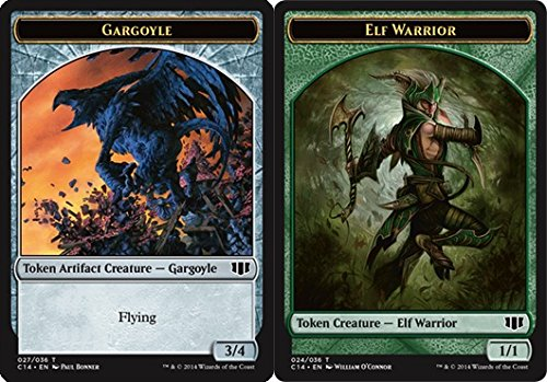 Magic: the Gathering - Gargoyle Token // Elf Warrior Token - Commander 2014