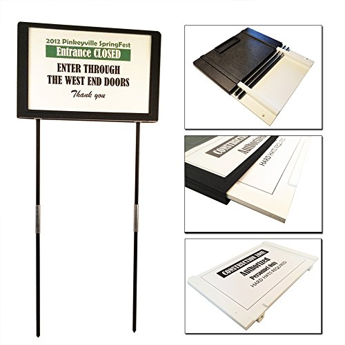 Portable Adjustable Weather Poster Holder product image