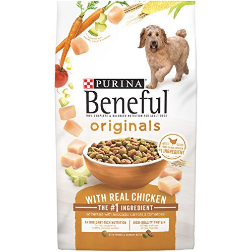 Purina Beneful Dry Dog Food; Originals With Real Chicken Accented With Avocado, Carrots & Tomatoes - 15.5 lb. Bag