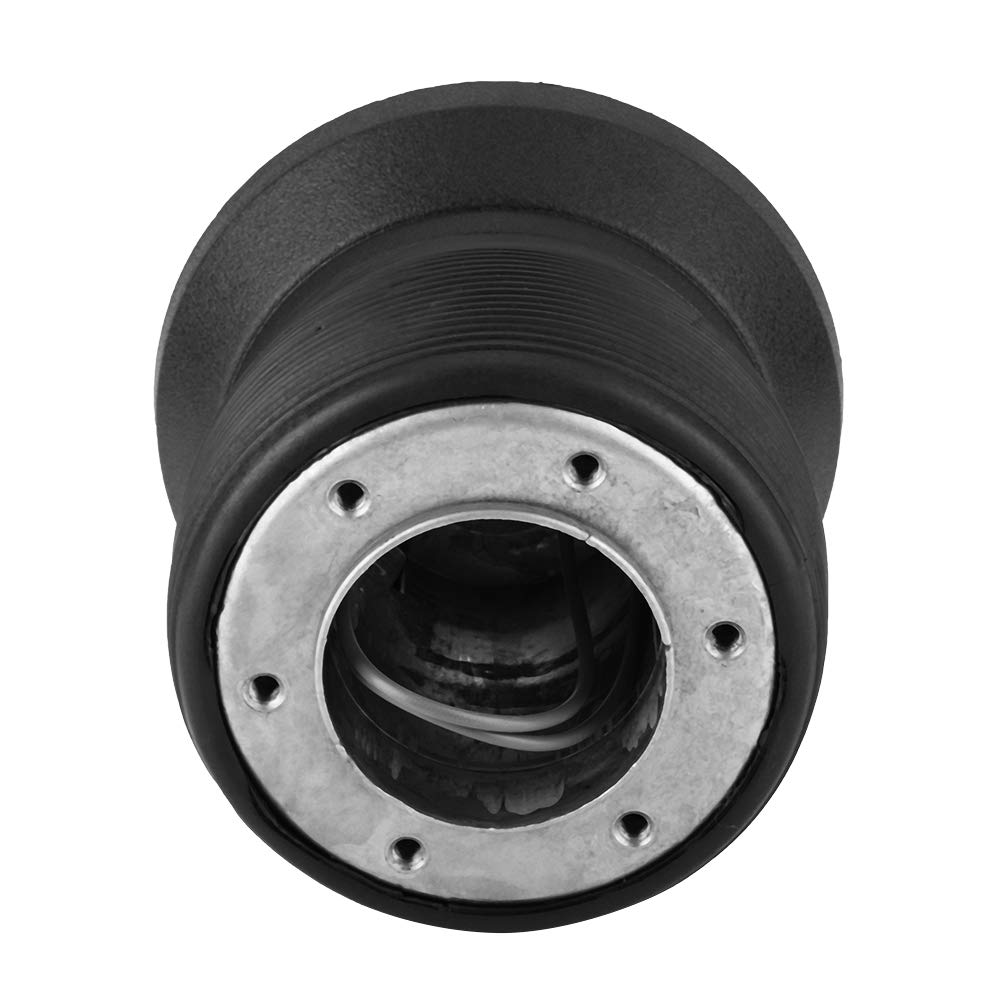 KIMISS Steering Wheel Hub Quick Release Adapter Kit for W123 W124 W126 190E Aluminum Alloy and Rubber Materials