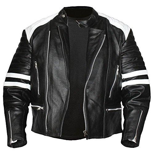 Descuento Leather Cuero Chaqueta Para 50 Hard De Punk Hombre 5qSOUx4Pwn