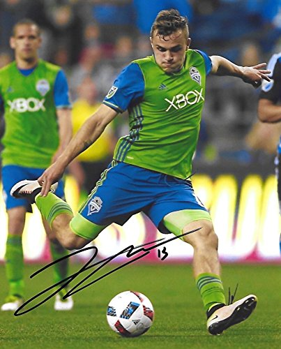 Jordan Morris, Seattle Sounders FC, Signed, Autographed, 8X10 Photo, a Coa with the Proof Photo of Jordan Signing Will Be Included/