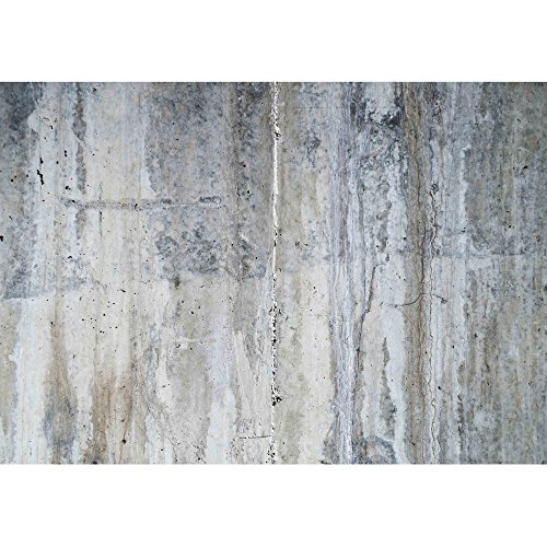 wall26 - Grunge Concrete Wall - Removable Wall Mural | Self-adhesive Large Wallpaper - 100x144 inches by wall26 (Image #1)