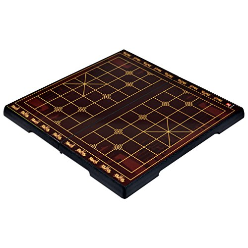 Chinese Chess Xiangqi Magnetic Travel Game Set With 12