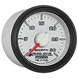 Auto Meter 8586 2-1/16-Inch 0-30000 PSI Fuel Rail Pressure Gauge for 2003-2007.5 Dodge Cummins 5.9L GM Duramax LB7 and LLY