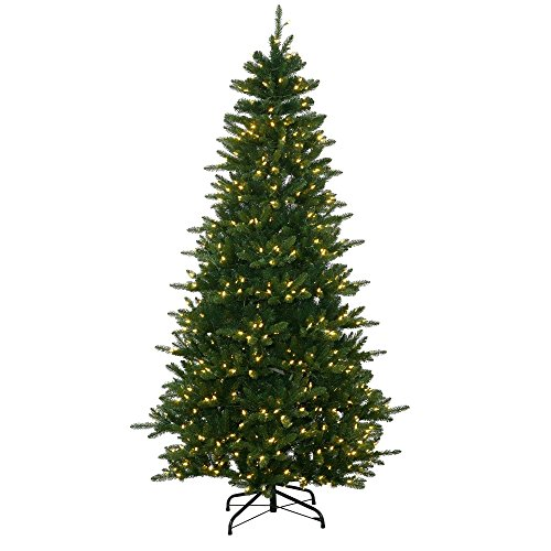 7.5' Medium Nikko Instant Shape Fraiser Fir Artificial Christmas Tree w/ White LED (Nikko Christmas Tree)