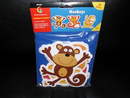 Monkeys Designer Cut Outs